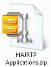 2016 HAJRTP Applications